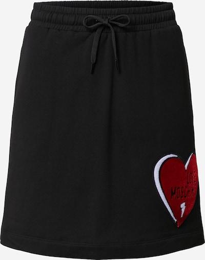 Love Moschino Rock in rot / schwarz / weiß, Produktansicht