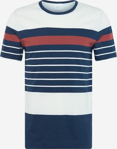 ARMEDANGELS Tričko 'Antonio' - námořnická modř / pastelově červená / bílá, Produkt