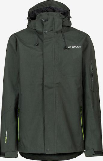 Whistler Funktionsjacke 'Largton' in dunkelgrün, Produktansicht
