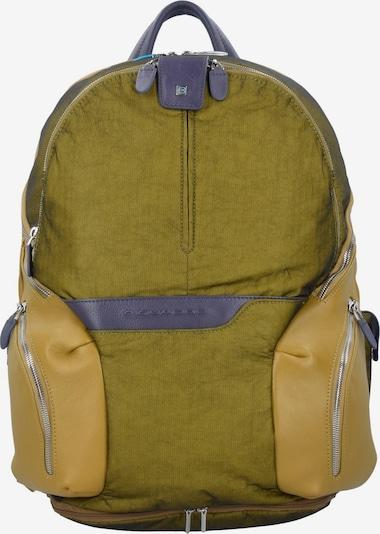 Piquadro Rucksack in gelb, Produktansicht