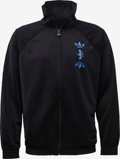 kék / fekete ADIDAS ORIGINALS Átmeneti dzseki, Termék nézet
