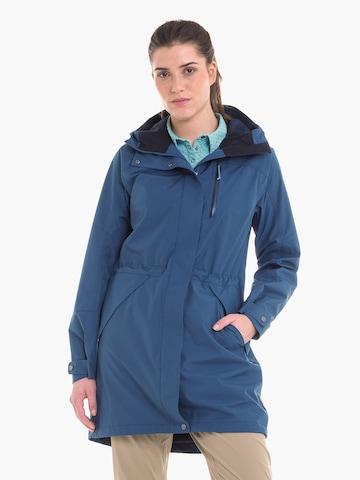 Manteau outdoor Schöffel en bleu