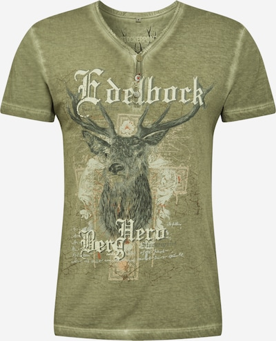 STOCKERPOINT Krojové tričko 'Berghero' - šedobéžová: Pohled zepředu