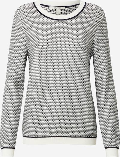 ESPRIT Trui in de kleur Donkergrijs / Wit, Productweergave