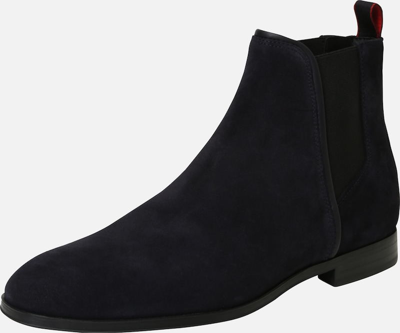 Hugo Bleu En 'boheme' Boots Foncé Chelsea mn8N0w