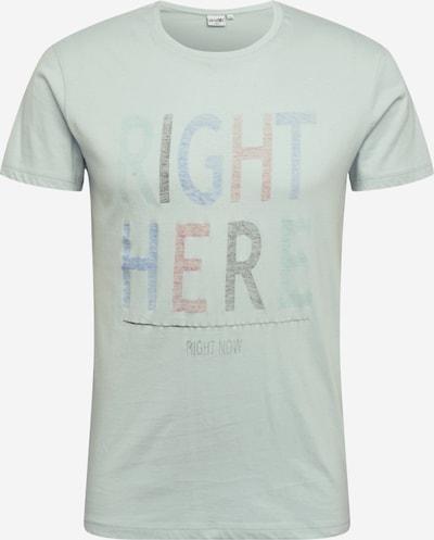 Marškinėliai 'Five' iš Hailys Men , spalva - opalo / šviesiai mėlyna / lašišų spalva / juoda, Prekių apžvalga