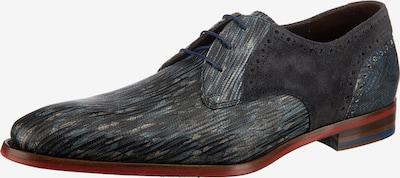 Floris van Bommel Business Schuhe in blau / grau, Produktansicht