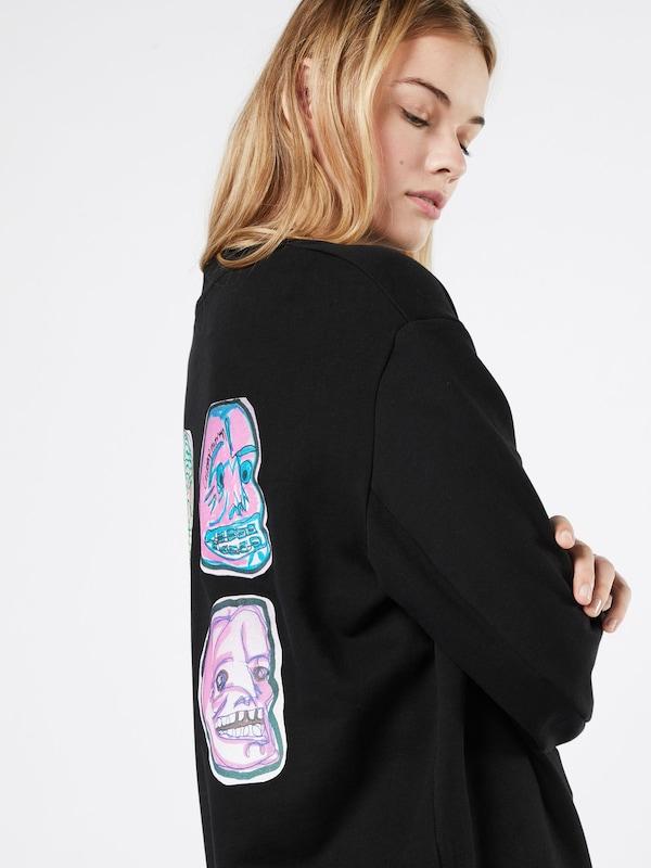 Sweatshirt Pas Cher Lundi con Sweat Logo Squad