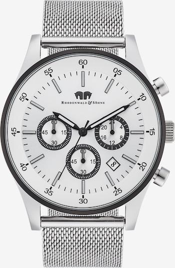 Rhodenwald & Söhne Armbanduhr 'Goodwill' in silber / weiß, Produktansicht
