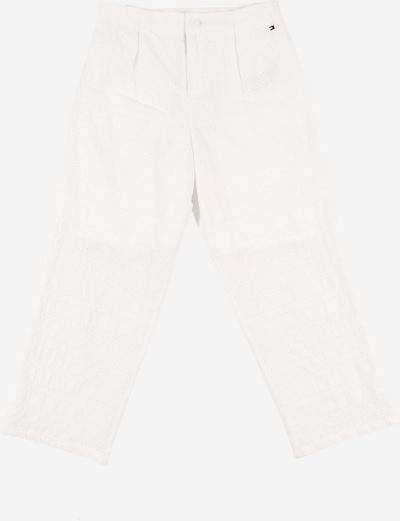 TOMMY HILFIGER Broek 'BRODERIE' in de kleur Wit, Productweergave