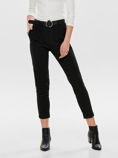 ONLY Pantalon à pince en noir: Vue de face
