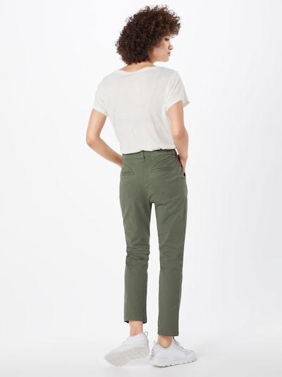 GAP Broek 'GIRLFRIEND' in de kleur Groen: Achteraanzicht