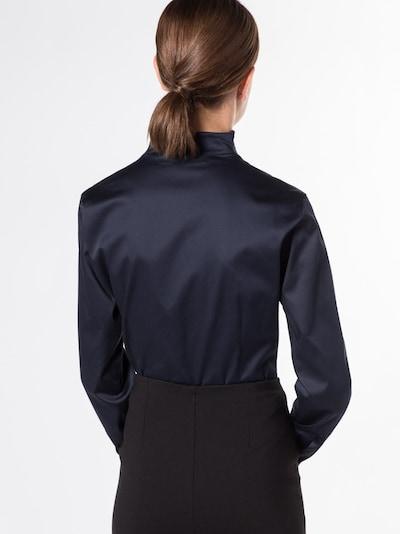 ETERNA Langarm Bluse in dunkelblau, Produktansicht