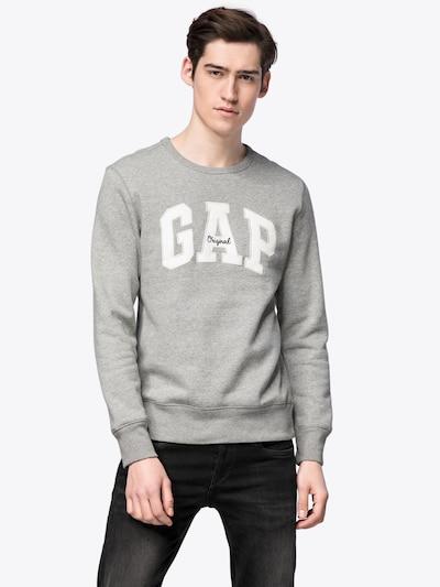 GAP Sweatshirt in graumeliert: Frontalansicht
