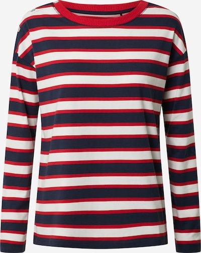 ESPRIT Sweatshirt in navy / rot, Produktansicht