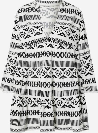 ONLY Koktejlové šaty 'LUCCA' - černá / offwhite, Produkt