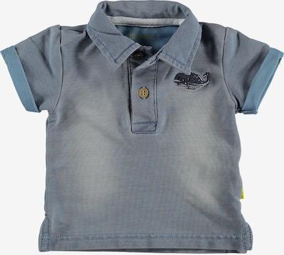BESS Poloshirt in taubenblau, Produktansicht