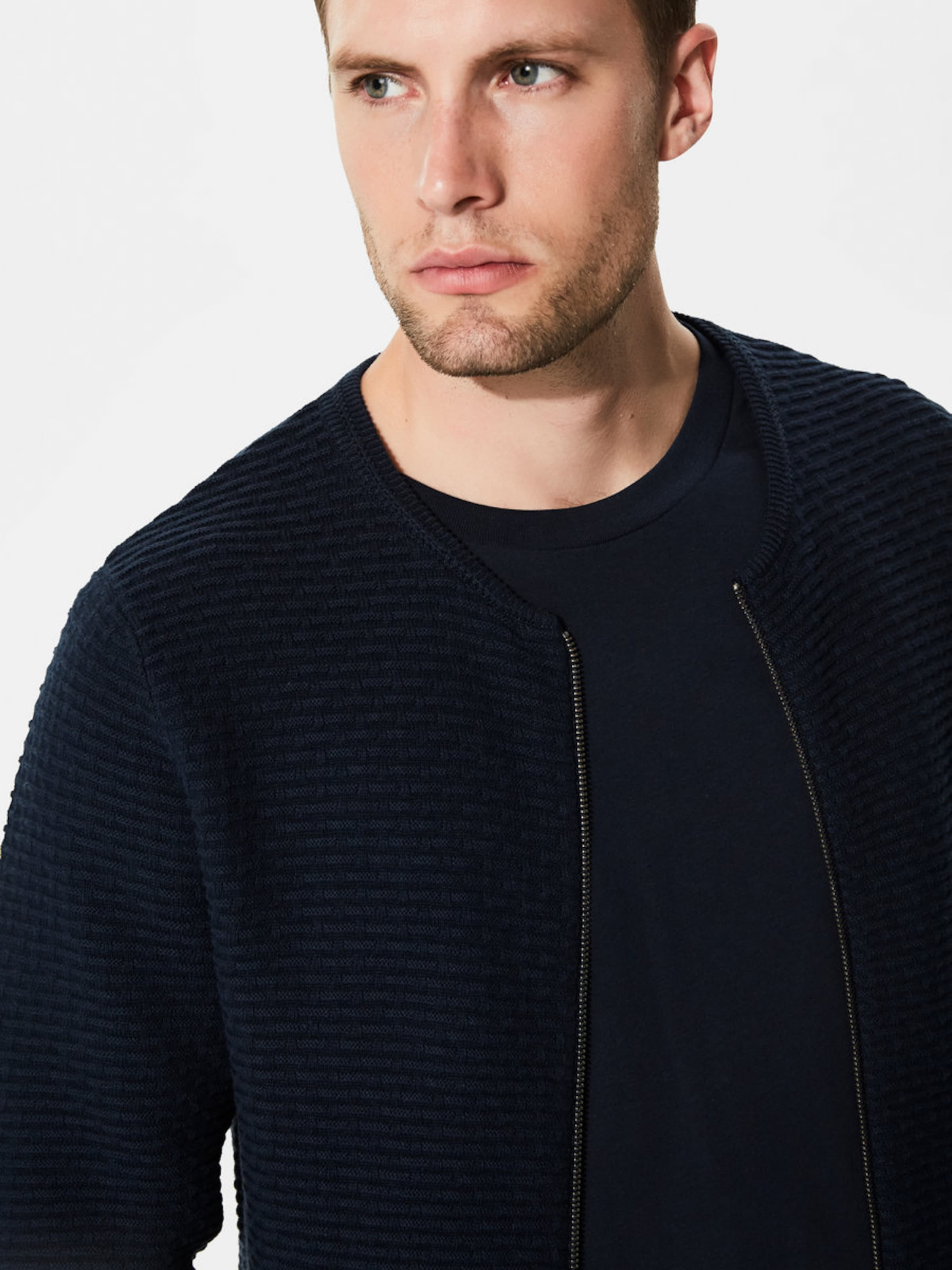 Verkauf Finish Verkauf In Mode SELECTED HOMME Strick-Cardigan 2JhNuBEUZb