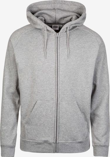 Urban Classics Sudadera con cremallera en gris claro, Vista del producto