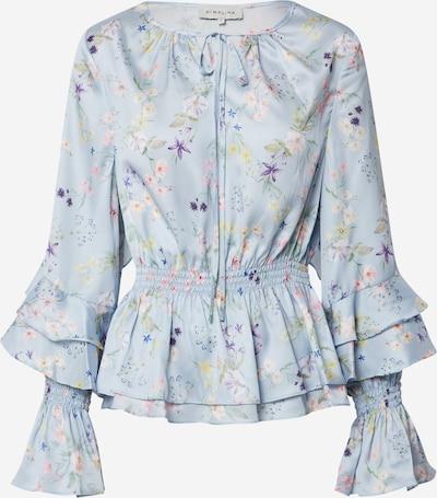 By Malina Blouse 'Estrid' in de kleur Blauw, Productweergave