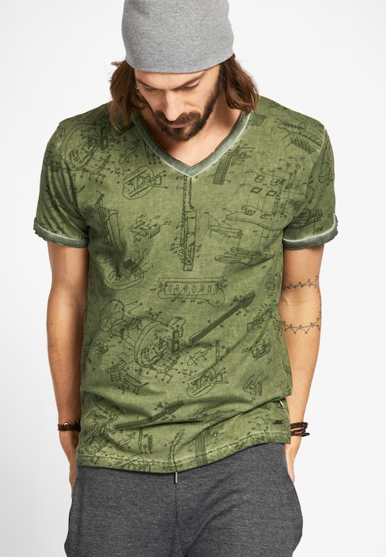 khujo Shirt 'TENDRIK'