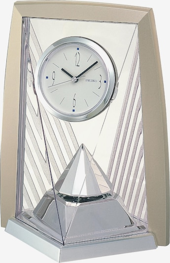 SEIKO Uhr 'QXN206S' in taupe / silber, Produktansicht