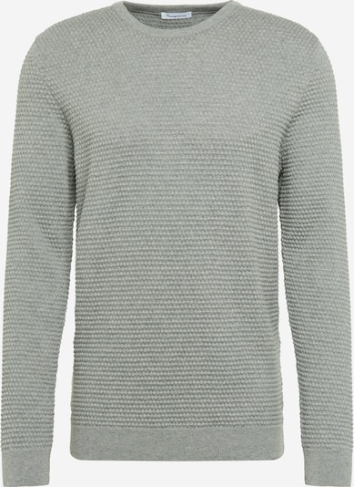 KnowledgeCotton Apparel Pullover 'FIELD' in grau, Produktansicht