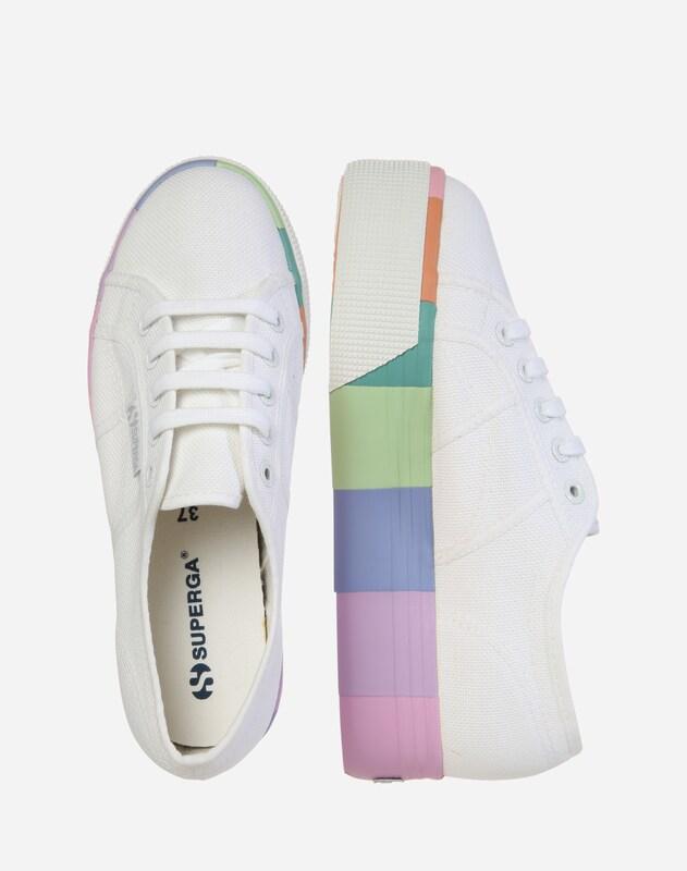 SUPERGA Plateau-Sneaker '2790 - Cotmultifoxingw'