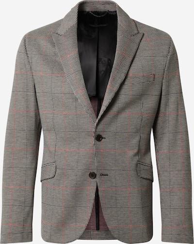 DRYKORN Veste de costume 'MALO' en gris / rouge, Vue avec produit