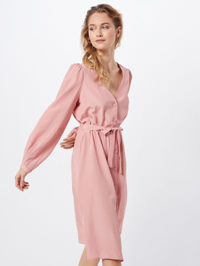 VILA Kleider 'VIPADDY L/S DRESS' in rosa, Modelansicht