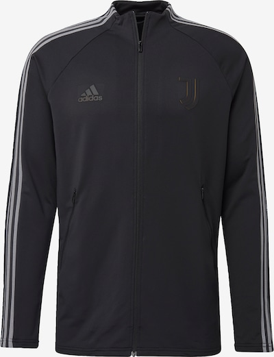 ADIDAS PERFORMANCE Jacke in hellgrau / schwarz, Produktansicht