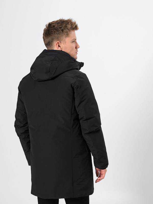 Cappuccio' Noir Save The D'hiver Duck En Parka 'cappotto HW2D9IE