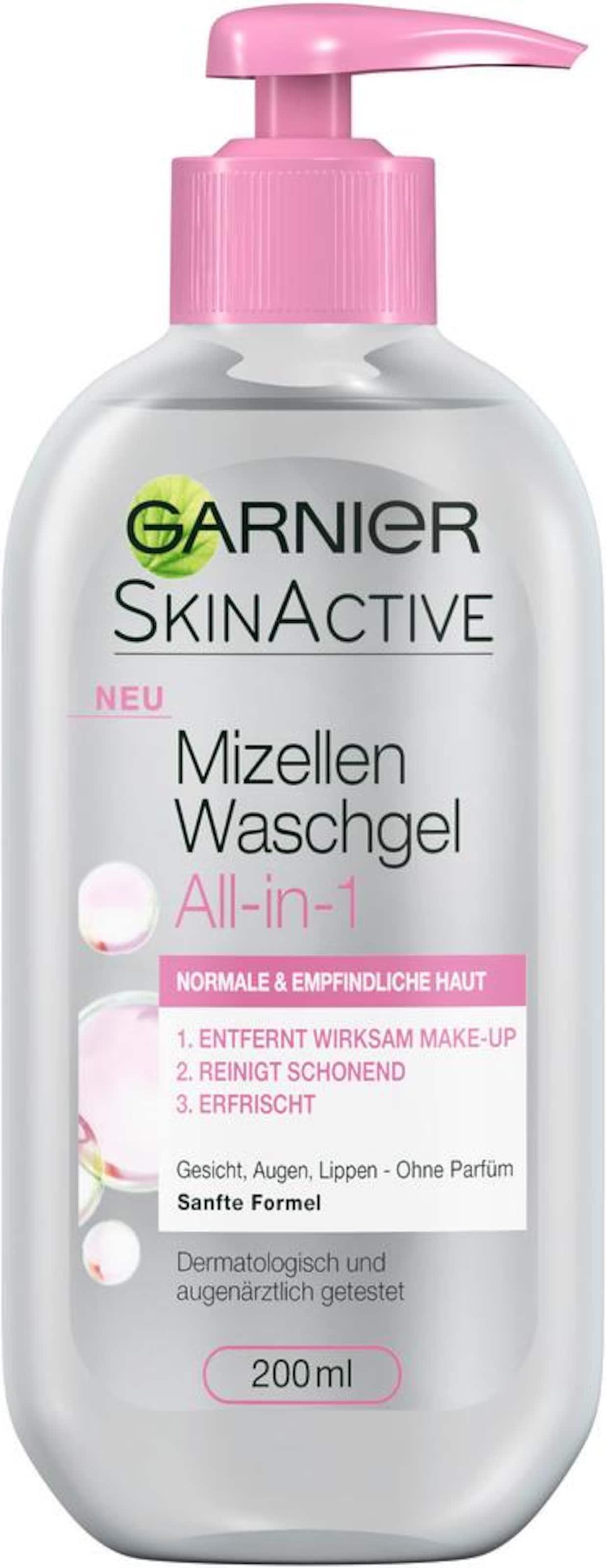 In Transparent Cleansing Garnier 'mizellen Normale Gel Haut'Gesichtsreinigung 4jLR3Aqc5