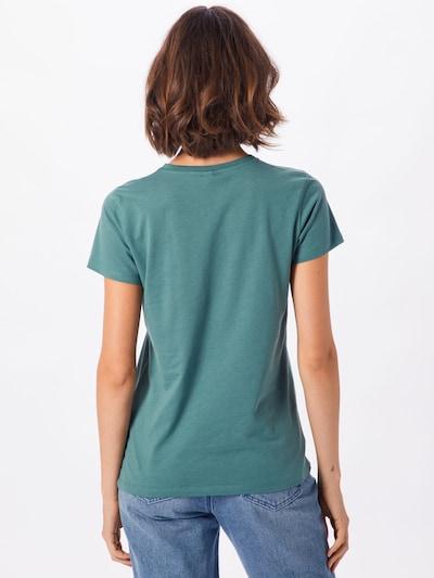 Iriedaily T-shirt 'Blowball' en vert / blanc: Vue de dos