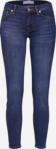 7 for all mankind Jeansy 'The Skinny Crop' w kolorze niebieski
