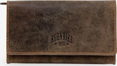 KLONDIKE 1896 Geldbörse 'Grace' in dunkelbraun: Frontalansicht