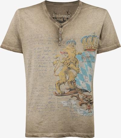 STOCKERPOINT Shirt 'Bene' in dunkelbeige, Produktansicht