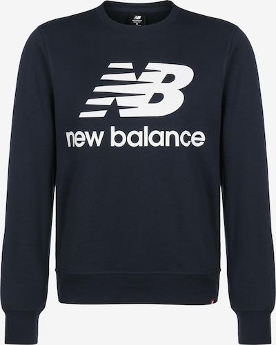 new balance Sweater in schwarz / weiß, Produktansicht