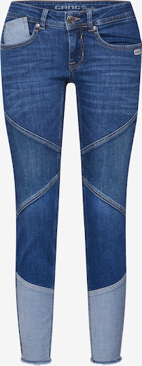 Gang Jeans 'FAYE MIX - comfort denim Cropped' in de kleur Blauw denim, Productweergave
