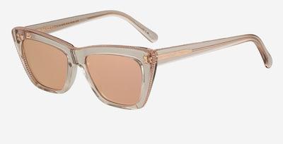 Stella McCartney Sonnenbrille in beige / rosa, Produktansicht