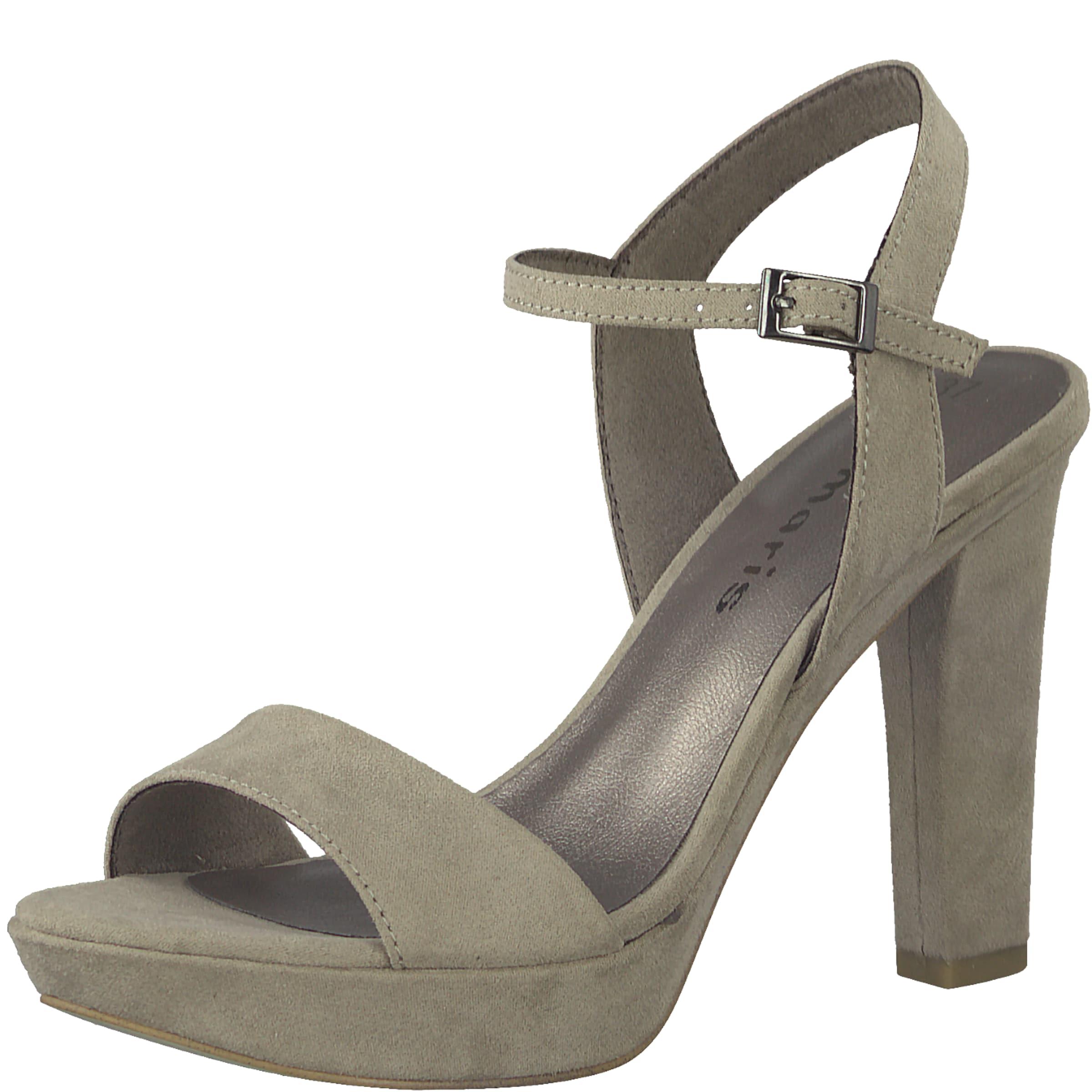Sandales Avec Tamaris Gris De Sangle unajhO