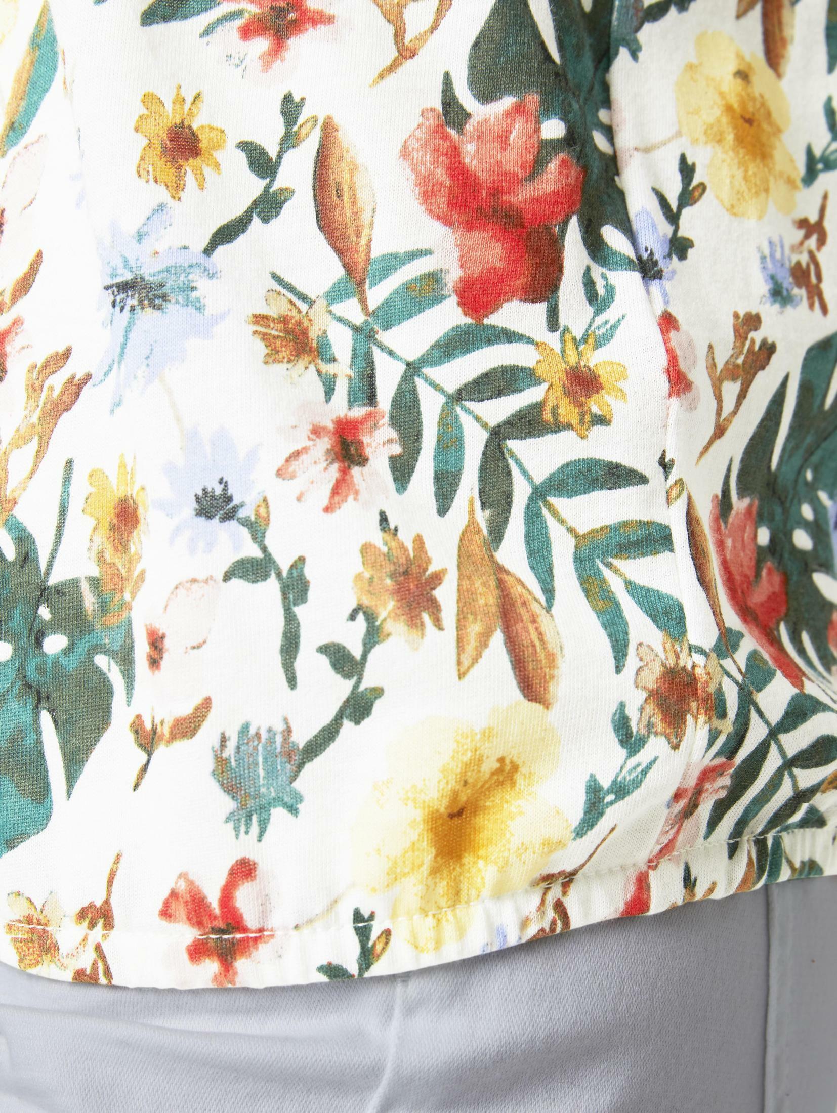 TOM TAILOR Shirt in Gemengde kleuren / Wit ikFTl0xj