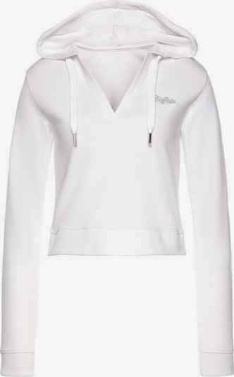 BUFFALO Sweatshirt in silber / weiß, Produktansicht