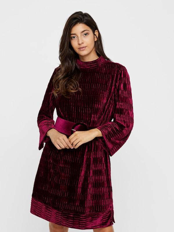 Y.A.S Y.A.S Y.A.S Kleid in rubinrot   silber  Neue Kleidung in dieser Saison 0de032