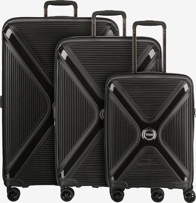 TITAN Kofferset 'Paradoxx' in schwarz, Produktansicht