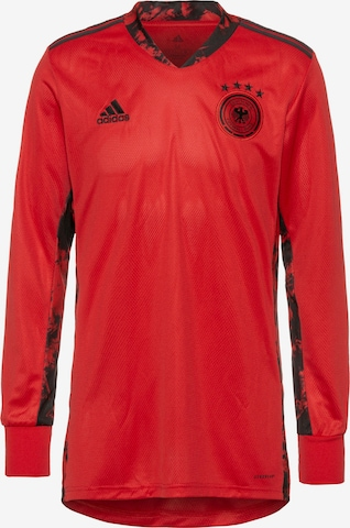 ADIDAS PERFORMANCE Jersey 'EM 2020 DFB' in Red