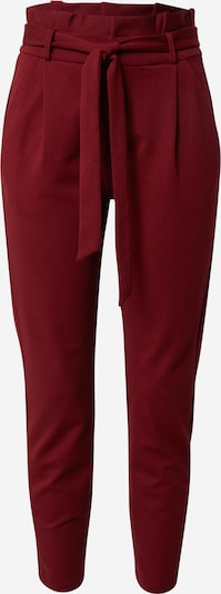 VERO MODA Trousers with creases in blood red, Item view