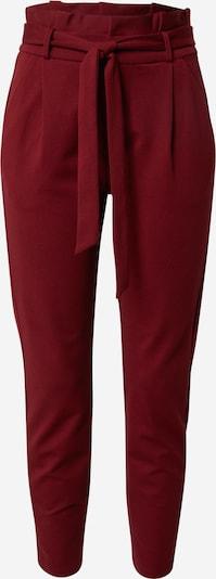Kelnės su kantu iš VERO MODA , spalva - kraujo spalva, Prekių apžvalga