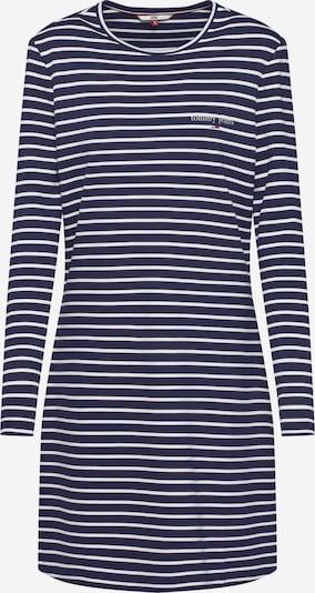 Tommy Jeans Kleid in blau / weiß, Produktansicht