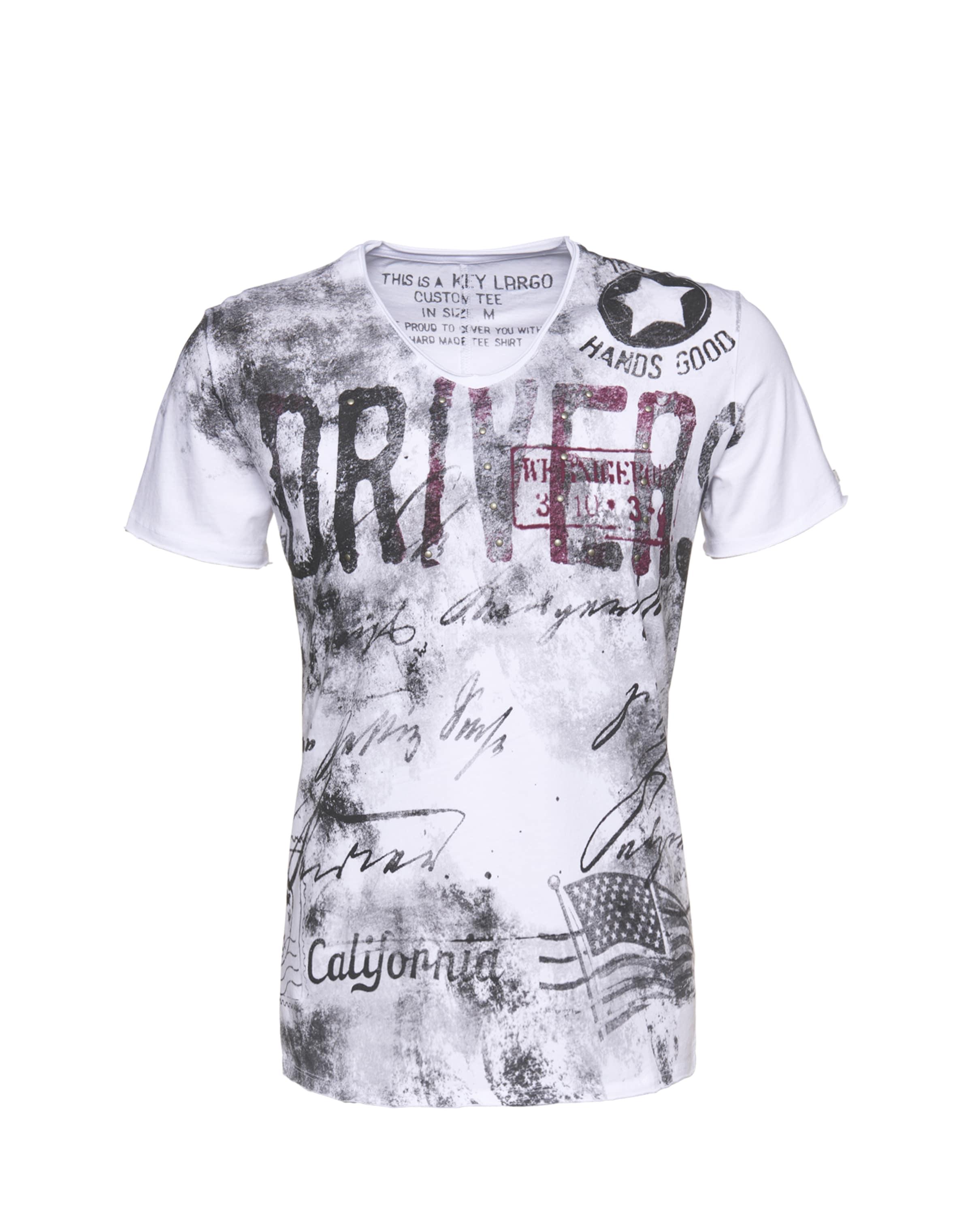 'driving' Key T shirt En Blanc Largo toQxhCsrdB